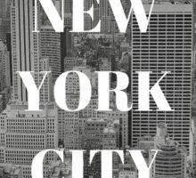 City Series (New York City) Sticker