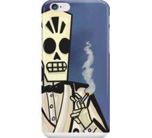 Grim Fandango- Manny Calavera iPhone Case/Skin