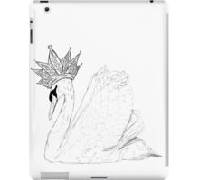 White Swan Queen iPad Case/Skin