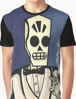 Grim Fandango- Manny Calavera Graphic T-Shirt