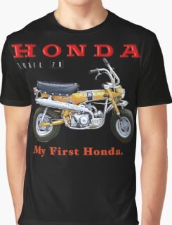 Honda Trail 70 My First Honda Graphic T-Shirt