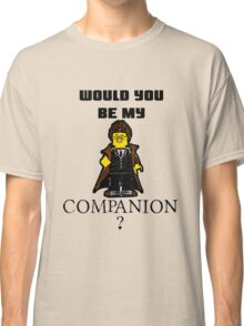 Nerd Valentines: Be my companion! Classic T-Shirt