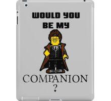 Nerd Valentines: Be my companion! iPad Case/Skin