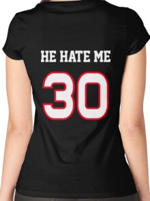 He Hate Me Women's Fitted Scoop T-Shirt