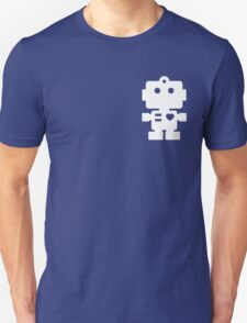 Robot - steel & white Unisex T-Shirt