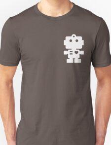 Robot - steel & white T-Shirt