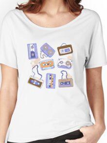 Audio cassette Women's Relaxed Fit T-Shirt