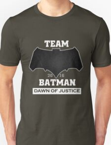 Team Dawn Of Justice Black T-Shirt