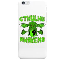 Cthulhu Awakens iPhone Case/Skin