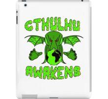Cthulhu Awakens iPad Case/Skin