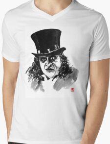 the pinguin Mens V-Neck T-Shirt