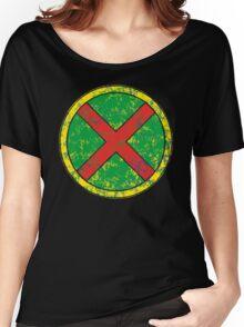Martian Manhunter - DC Spray Paint Women's Relaxed Fit T-Shirt