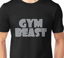 Gym Beast (Grey) Unisex T-Shirt
