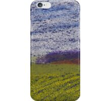 Pastel Green Field iPhone Case/Skin