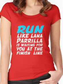 OUAT Lana Parrilla T-Shirt Women's Fitted Scoop T-Shirt