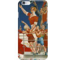 Vintage poster - Soviet Art Poster iPhone Case/Skin