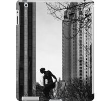 A Solitary Moment in the City iPad Case/Skin