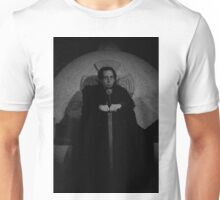 Mordred as Regent of Camelot (B&W) Unisex T-Shirt