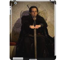 Mordred as Regent of Camelot iPad Case/Skin