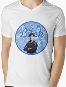 Alec Lightwood - Not your bitch Mens V-Neck T-Shirt