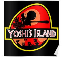 Jurassic Park - Yoshi's Island Poster