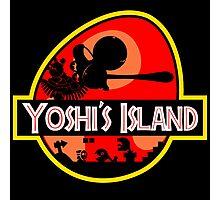 Jurassic Park - Yoshi's Island Photographic Print