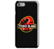 Jurassic Park - Yoshi's Island iPhone Case/Skin