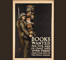Vintage poster - Books Wanted Unisex T-Shirt