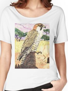 Barbary Falcon Women's Relaxed Fit T-Shirt