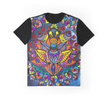 A Lotus Prayer Graphic T-Shirt