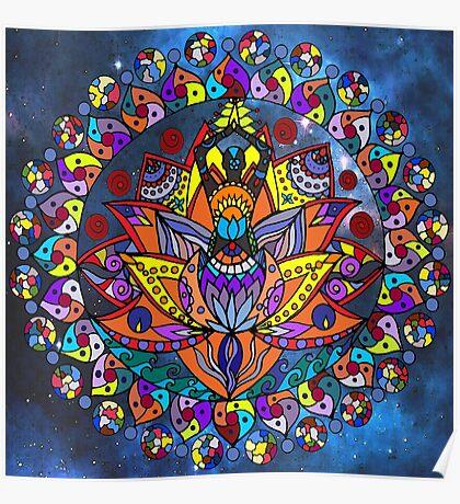 A Lotus Prayer Poster