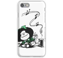 Mafalda Music iPhone Case/Skin