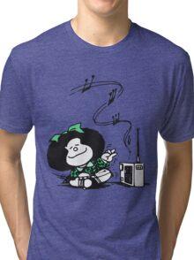Mafalda Music Tri-blend T-Shirt