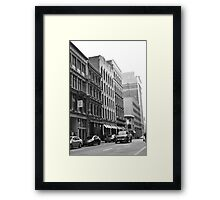 Montreal Architecture Framed Print