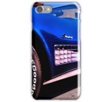 Reluctantly crouched at the starting line iPhone Case/Skin