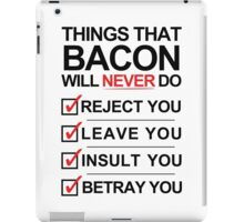 Bacon Is The One [BLACK] iPad Case/Skin