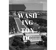 City Series (Washington DC) Photographic Print