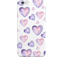 pattern hearts iPhone Case/Skin