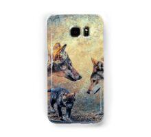 The Wolf Family Samsung Galaxy Case/Skin
