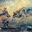The Wolf Family by Tarrby