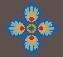 Folklore Rythmes Kaleidoscope Baby Tee