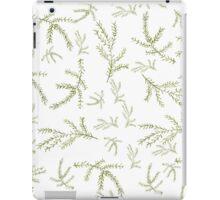 Fir branch pattern  Watercolor  iPad Case/Skin