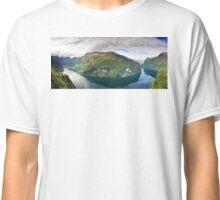 Ornevegen view Classic T-Shirt