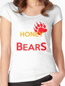 Dip me in honey and throw me to the bears 2 Women's Fitted Scoop T-Shirt