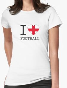 I ♥ ENGLAND Womens Fitted T-Shirt