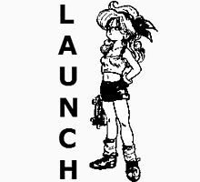 """Dragon Ball-Launch Shirt """"Outline"""" Womens Fitted T-Shirt"""
