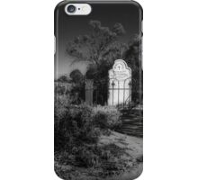 Lonely grave iPhone Case/Skin