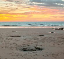 cable beach wet season sunset  by Elliot62