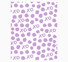 XOXO Love // hearts dots valentines day lilac pastel and white by andrea lauren Classic T-Shirt