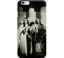 In happier days: King Arthur and Anna  iPhone Case/Skin